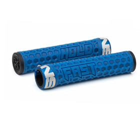 NS Bikes Hold Fast Grips Unlocked blue